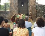 theatre in the park, Tuscania Italy