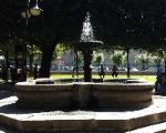 fountain in Park, Tuscania  (VT) Italy